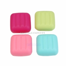 Mini Soap Dish Case Holder Container Box Portable Travel Outdoor Camping #G205M# Best Quality