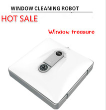 Smart wireless Window cleaning robot ,window treasure for glass,walls,tables floors and other planes with remote control(China)