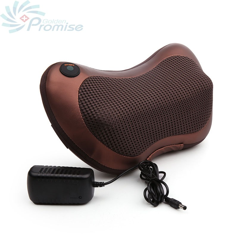 GPYOJA Digital Therapy Machine Massage Pillow Shiatsu Infrared Electric Massager for Back Body Neck Pain Relief Home Car Use<br>