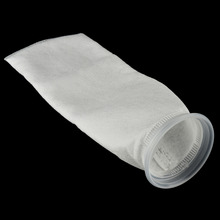 1PCS Polypropylene Fish Tank Filter Mesh Bag Easy Light Weight Aquarium Filter Socks 2 Sizes 150 200 Micron(China)