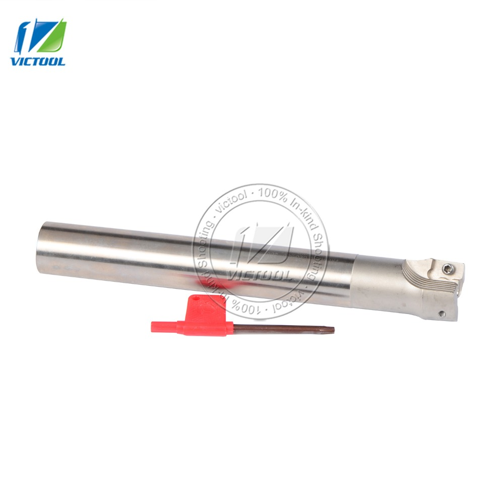 High quality JAP400RC25-30-200-2T  Indexable Face Mill Holder  length 200mm CNC Mill Tool Holder,Milling Tools<br>