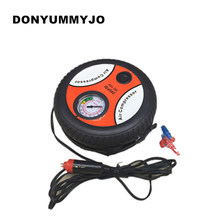 Car Styling Inflatable Pump 12V 260PSI Mini Portable Car Air Compressor Tire Electric Inflater Auto Pumps(China)