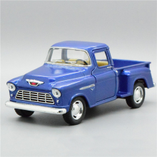 New High Simulation Exquisite Collection Toys KiNSMART Car Styling 1955 Chevrolet Stepside Pickup 1:32 Alloy Car Model Best Gift(China)