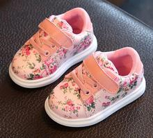 Cute Baby Girls Soft Moccasins Shoes 2017 Autumn white Flower children Sneakers Toddler kids Newborn First Walkes Antislip(China)