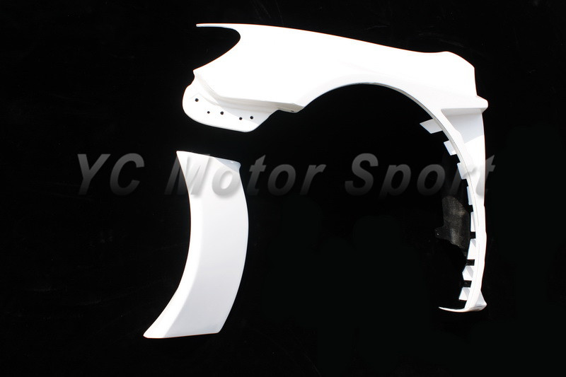 2009-2012 VW Golf IV&GTI&R20 Racing Style Wide Front Fender FRP (3)
