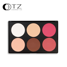 6 Colors Brand Makeup Blush Palette in Matte Face Blusher Powder Palette makeup AB06(China)