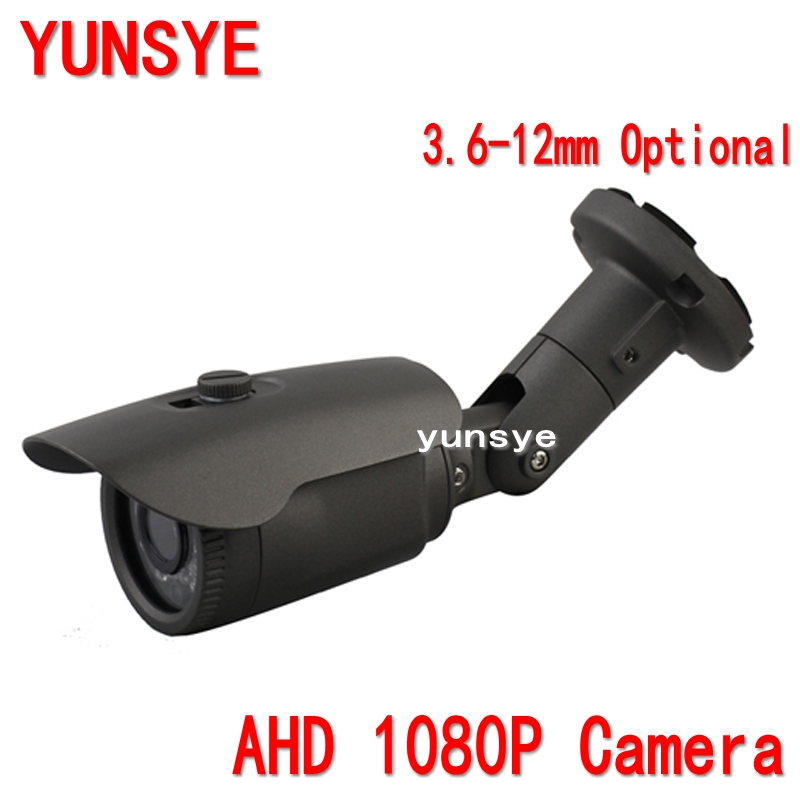 2016 NWE AHD camera 1080P 2.0MP Sony IMX322 Chip 24 leds 3.6mm waterproof clear night vision IR filter camera Waterproof Camera<br>