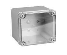 IP66 Toyogiken Clear Cover ABS Waterproof Box Enclosure Switch Box Distribution Box 125x125x100mm DS-AT-1212(China)
