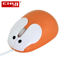 CHYI Mini Cute Cartoon Rabbit Mouse USB Wired Optical Mause Mice Muase for Laptop Computer Gifts for Kids Ladies(China)