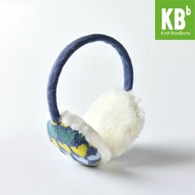 2017 KBB Spring 3 Colors Heart Pattern Fashion Lady Children Kids Women Men Knit Warm Plush Faux Fur Winter Earmuffs(China)