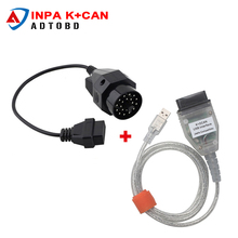 NEW Arrived Car Stlying for BMW INPA K can inpa k dcan USB OBD2 Interface INPA for BMW 20pin Connector free shipping
