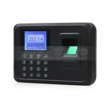 DIYSECUR LCD Biometric Fingerprint Time Clock Attendance Machine TCP/iP RS232/485