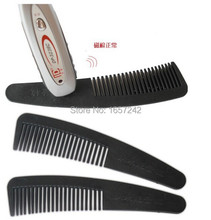Wholesale price 100pcs Tourmaline comb infared therapy Comb Magnetic comb Nano comb with Retail Box  fast delivery by courier