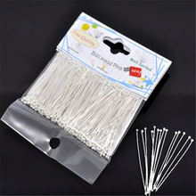 DoreenBeads 1 pack(300PCs)Well Sorted Silver color Ball Head Pins 45x0.7mm(21 gauge)(China)