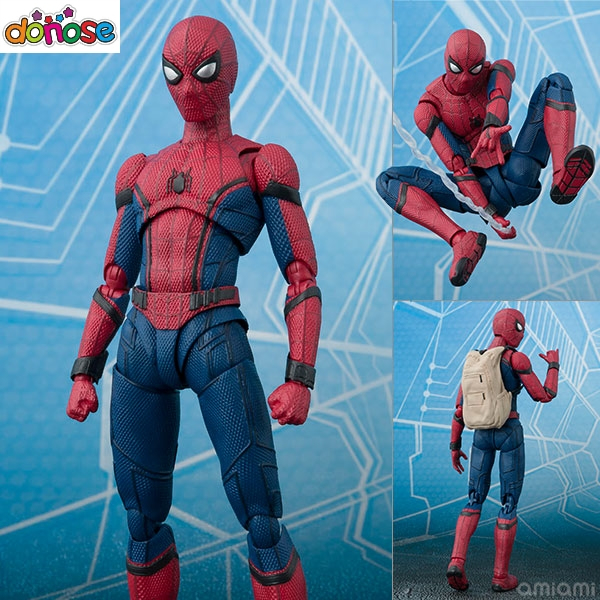 SH Figuarts Superhero Spider-Man: Homecoming Figure Spiderman  PVC Action Figure Collection Model Kids Toy Doll Xmas Gift