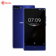 Doogee Mix Mobile Phone 5.5 Inch HD Helio P25 Octa Core 4GB RAM+64GB ROM 8MP+16MP Dual Rear Cam Fingerprint Bezel-less Phone