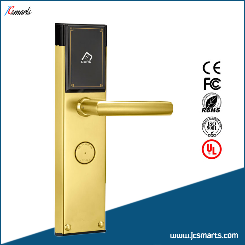 Digital Electric Best RFID hotel Electronic Door Lock For Flat Apartment<br>