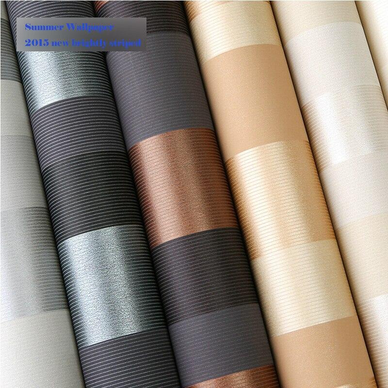 2015 update  striped glitter wallpaper roll size 0.53*10meter for classical all decor match papel de parede 3d moderno<br><br>Aliexpress