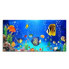 Fascinating underwater world  120x60 DIY square drill rhinestone pasted painting cross stitch crafts Needlework Diamond Drawing