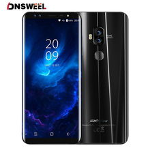 "Blackview S8 5.7""18:9 Aspect Ratio Infinity Screen 4G Smartphone 4 Cameras 4GB+64GB MT6750T Octa Core Fingerprint Mobile Phone(China)"