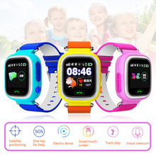2017 Best Child GPS Tracker Smart Watch Fitness Activity Phone Pedometer Smartwatch SOS Android Smat Watch For kids Boys Girls