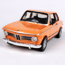 Maisto Bburago 1:32 1972 2002 Tii Retro Classic Car Diecast Model Car Toy New In Box Free Shipping Vintage car 43202