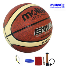 original molten basketball ball GW7/GW6/GW5 NEW Brand High Quality Genuine Molten PU Material Official Size7/Size 6/5 Basketball