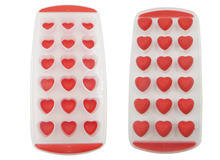 BEST silicone mini ice cube tray diy mould chocolate jelly popsicle mold heart shaped(China)