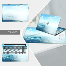 Laptop Sticker Mouse Pad Sets Skin for Dell inspiron 11 3168/13 7368/15 5568/Precision 5510/M4010/M4030/14 1464/D620/D630 Cases(China)