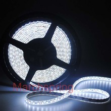 Free mail 3528 600 5M LED Strip SMD Flexible light 120led/m indoor no-waterproof warm / white/red/green/blue(China)