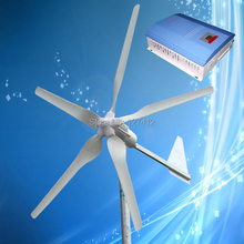 1000W 24V Wind Power Generator with 5PCS Blades + 1000W 24V Wind Solar Hybrid Controller, CE/ISO9001/ROHS + 3 Years Warranty