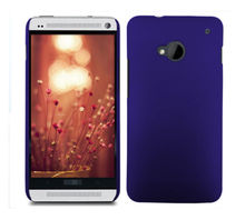Hard Rubberized Matte Snap-On Slim Cover Case For HTC One Dual Sim 802W 802D