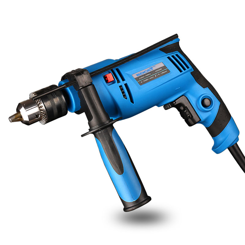 2016 Taladro Electrico Drilling Machine Multifunctional Household Electric Rotary Impact Drill For Wall Working Power Tool Set <br>