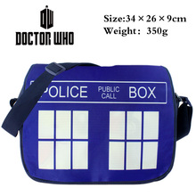 2016 Anime Doctor Who Messenger Bag School Bag For Students Kids Children Boys Gilrs Teenager Canvas Bags