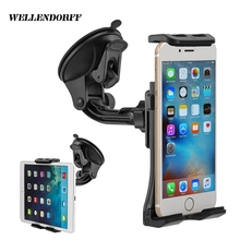 360 Rotary Universal Tablet Adjustable Car Phone Holder For Iphone X 8 Plus 7 7Plus For Ipad Mi Max 2 Stand S8 Plus Desk Support(China)