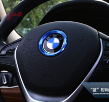 steering wheel Soft Enamel emblem for E39 E36 E60 E90 E34 BMW E46