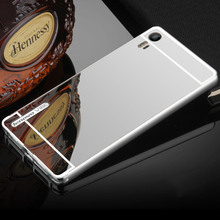 For Lenovo Vibe Shot Z90 rim Metal Aluminum Bumper Frame Case For Lenovo Vibe Shot Z90 Z90-3 Z90-7 with Mirror PC Back Cover