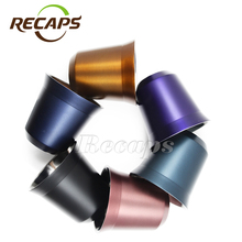 Nespresso cups Pixie Espresso Stainless Steel coffee Nescafe Double Wall Thermo capsule coffee cup coffee mug(China)