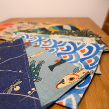 Cute fish disc pads geometry fresh small creative mat Home Equipment cup holder pad non-slip fabric pad table disc pads(China)