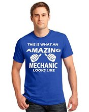 Make T Shirts Crew Neck Graphic This Is What An Amazing Mechanic Looks Like T-shirt Car Tool Short Sleeve T-shirts For Men