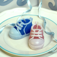 The wedding decoration of Valentine's Day promotion birthday candle gift scented candles making manual craft shoes