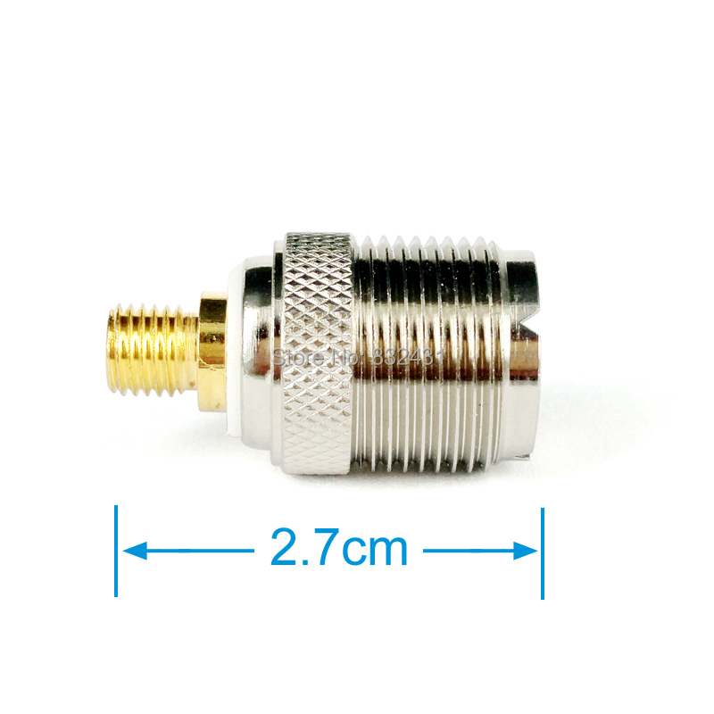 Coaxial Antenna Connector Adapter for Motorola Handheld Walkie Talkie 3