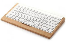 Bamboo Wood Craft Bluetooth Wireless Keyboard Stand Dock Holder For Apple IMac