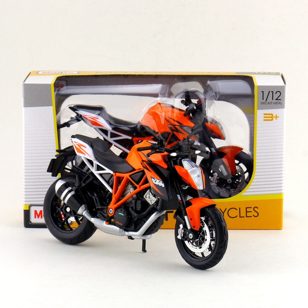 Maisto/1:12 Scale/Simulation Diecast model motorcycle toy/KTM 1290 Super Duke R Super/Delicate children's toy/Colllection(China)