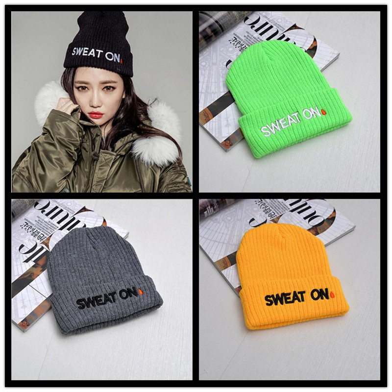 2016New autumn heat Winter spring bad hair day beanie hats for women men,fashion knit ski Skullies bonnet,gorro feminino invernoÎäåæäà è àêñåññóàðû<br><br><br>Aliexpress