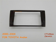 Car DVD/CD Radio Stereo Fascia Panel Frame Adaptor Fitting Kit for TOYOTA Avalon 2000-2004(China)