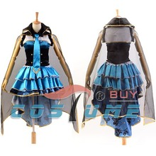 LoveLive! Love Live UR Cards Eli Ayase Job Ver. (Part 2) Uniform Blue Skirt Cloak Top Anime Halloween Cosplay Costume For Women