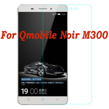 registered+Free Shipping for Qmobile Noir M300 Ultra Thin Anti-Explosion Cell Phones Tempered Glass Screen Protector Guards