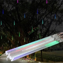 80cm SMD5050 24V 108leds/tube LED snow fall,LED christmas light, waterproof raining tube, led meteor tube
