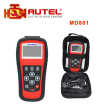 2017 Best Selling Maxidiag MD801 4 in 1 code reader scanner for OBD1 OBDII protocol Diagnostic tool DHL free shipping